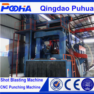 Q69 Roller Conveyor Type Shot Blasting Machine 2017 Hot Sale Cleaning Machine pictures & photos