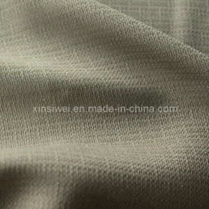 100% Polyester Imitation Linen Fabric pictures & photos