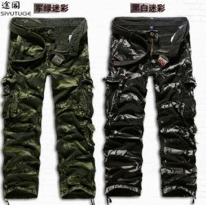 2014 Fashion Cotton Men Fashion Garment Dyed Pants pictures & photos