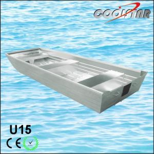 U Type Aluminium Boat with Flat Bottom pictures & photos
