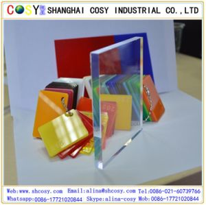 Top Grade Decorative 100% New Virgin Material Cast Acrylic Sheet pictures & photos
