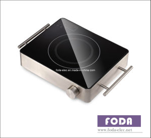 Metal Shell Table-Top Knob-Type Single-Coil Infrared Cooker/Hilight/Hi-Light/Not Induction Stove