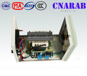 Current Type Single Phase Stabilizer, AVR Automatic Voltage Stabilizer 220V AC 2000va for Home Use pictures & photos