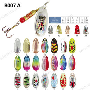 Hot Sale High Quality Fishing Spinner Lure pictures & photos