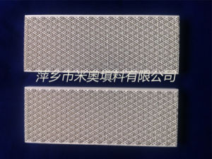 Square Ceramic Honeycomb Burning Plate (162X60)