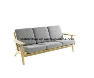 Hans J Wegner Wooden Sofa pictures & photos