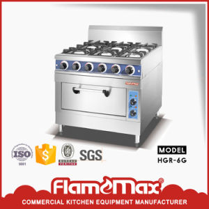6-Burner Gas Range with Electric Oven (HGR-6E) pictures & photos