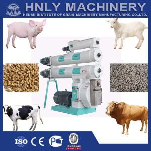Electrical Motor Auto Lubrication Animal Feed Pellet Machine pictures & photos