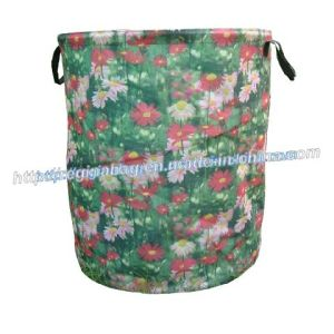 600d Flower Printing Bag (YC-925)