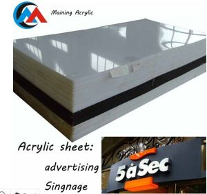Cast Acrylic Sheet for Advertising Plate/Perspex Price