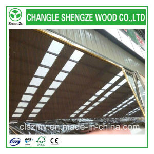 Furniture Grade 16mm Wood Grain Color UV MDF pictures & photos