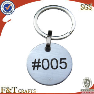 Cheap Bulk Custom Metal Leather Keychain pictures & photos