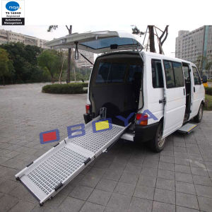 Auto Accessory, Vehicle Folding Ramp for Wheelchair pictures & photos