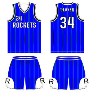 Customized Men Full Sublimation Basketball Uniform with Your Design pictures & photos