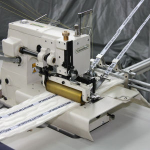 Mattress 3D Mesh Border Quilting Machine pictures & photos