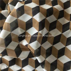 Sj01printed Polyester Chiffon Garment Fabric