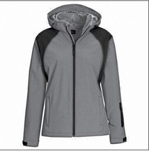 OEM Woman′s Outdoor Fleece-Lined Soft-Shell Jacket