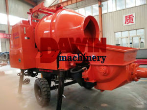 Electric Concrete Mixer with Pump pictures & photos