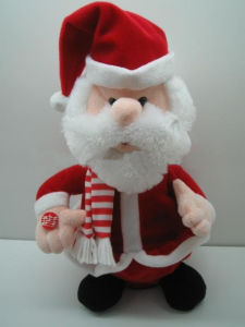 Christmas Gift Plush Doll Toy Santa Claus Stuffed Toy