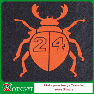 Qingyi Best Flock Heat Transfer Vinyl for Garment pictures & photos