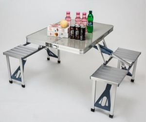 Aluminum Alloy Outdoor Chairs & Table pictures & photos