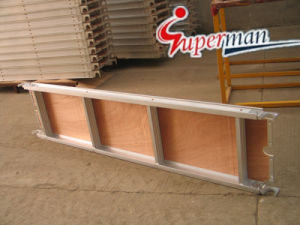 Aluminum Wood Plank for Scaffolding with CE pictures & photos