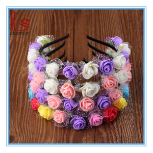 Fashion Bridal Flowers Wreath Hair Accessories pictures & photos