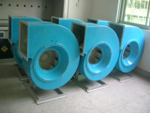 FRP GRP Discharges Fume Air Fan Blower pictures & photos