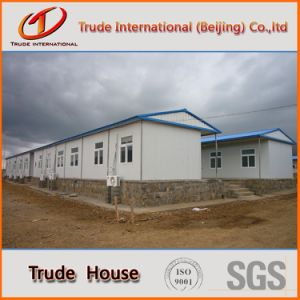Low Cost Prefabricated/Mobile/Modular Building/Prefab Color Steel Sandwich Panels Fast Installation Houses pictures & photos