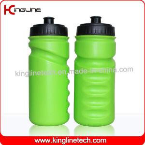 Plastic Sports Water Bottle, Plastic Sports Bottle, 600ml Plastic Drink Bottle (KL-6616) pictures & photos