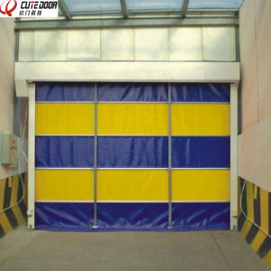 Son-Cap High Quality Interior PVC Warehouse Roll up Stacking Door pictures & photos