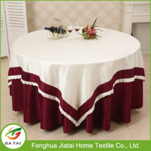 Table Cloth Factory Custom Polyester Restaurant Table Cloth pictures & photos