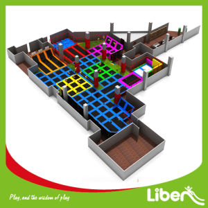 2014 Liben New Hot Product Kids Indoor Trampoline Park with CE Certificate pictures & photos