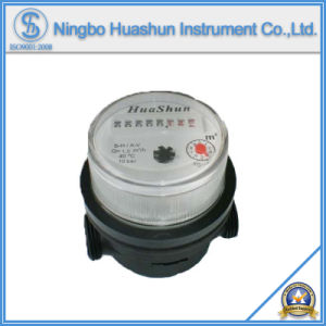 Single Jet Dry Type Water Meter with 80mm Length Plastic Body (LXSC-15D) pictures & photos