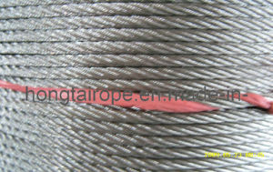 5.0mm7x19 Stainless Steel Strand Wire Rope and Cables