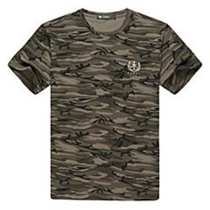 Custom Cotton Printed T-Shirt for Men (M212) pictures & photos