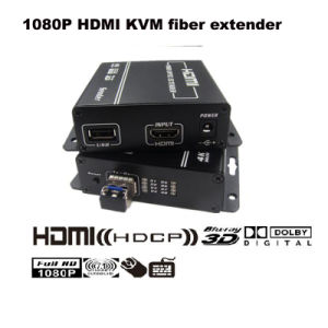 1080P HDMI Kvm Fiber Optic Extender Support Full HD Video Max up to 300m (KHX-1240HD) pictures & photos
