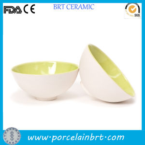 Coconut Shell Shape Porcelain Snack Bowl pictures & photos