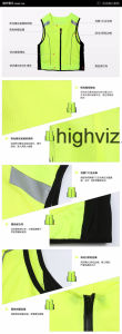 High Visibility Vest for Outdoor Cycling (C2426) pictures & photos