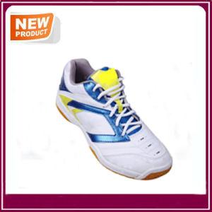 Fashion Men′s Cushion Badminton Shoes Sport Shoes Wholesale pictures & photos
