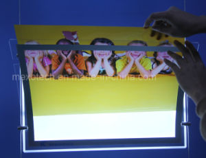 Magnetic Acrylic Poster Display LED Slim Light Box for Advertising pictures & photos