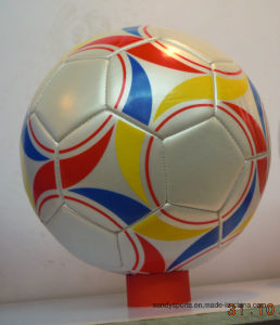 Official Size Promotional Machine-Sewn Soccerball pictures & photos