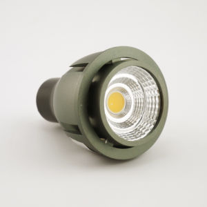 Aluminum 4W COB LED Recessed Spotlight GU10 Bulb pictures & photos