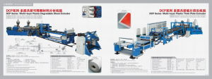 PLA Sheet Extruder (twin screw) pictures & photos
