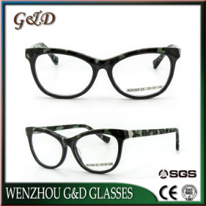 High Quality New Design Acetate Spectacle Optical Frame Eyeglass Eyewear Ncd1505-25 pictures & photos