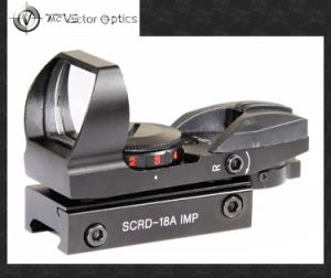 Vector Optics Imp 1X23X34 Gun Red Green DOT Sight Scope with 20mm Weaver Mount pictures & photos