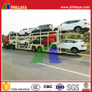 Car Transport Semi Trailer, Truck Trailer Car Carrier pictures & photos