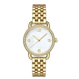 Classical 316L Stainless Steel Bracelet Watch, with Rhinestones for Both Men and Women  pictures & photos