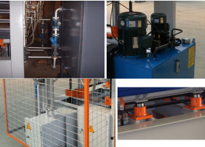 PVC Film Plywood Moulding Pressing Machine pictures & photos