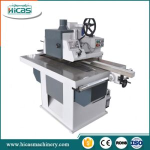 Automatic Woodworking Cutting Single Blade Rip Saw for Wood Floor pictures & photos